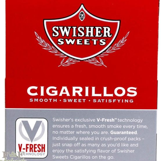 Swisher Sweet Cigarillos 4 Pack