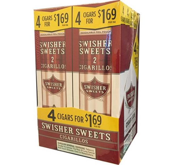 Swisher Cigarillos 4 For $1.69